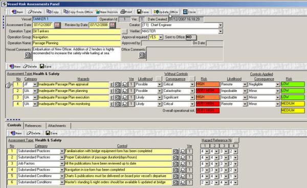 Danaos Calculation of KPIs for TMSA compliance